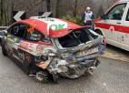 Video: Sesks Moncas WRC piedzīvo smagu avāriju