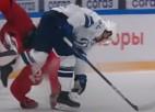 Video: KHL aizvadītās sezonas spēka paņēmienos uzvar Mironovs