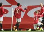 """Maktomineja vārti papildlaikā ieved """"Manchester United"""" ceturtdaļfinālā"""