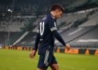 """Trīs """"Juventus"""" futbolisti aizliegtas ballītes rīkošanas dēļ atstādināti no Turīnas derbija"""