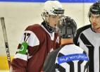 Latvijas U18 hokeja izlases treniņnometni papildinājuši seši spēlētāji