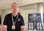 Video: ''Sports tuvplānā'': Hokeja čempioni ar medaļām un izlase gatavojas PČ