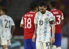 Mesi iesit Argentīnas neizšķirtā pret Čīli, Urugvaja nespēj pieveikt Paragvaju