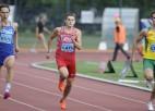 LVS/Sportland kausā Ārentam 5,51m, U23 izlasei 4x100m rekords