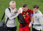 Kastaņam traumas dēļ Eiropas čempionāts beidzies pēc vienas spēles