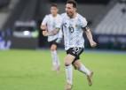 Mesi skaisti vārti, Argentīna nenotur pārsvaru un spēlē neizšķirti ar Čīli