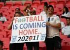 UEFA draud atņemt Vemblijam finālu, ja netiks mīkstināti ieceļošanas ierobežojumi