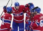 """""""Canadiens"""" emocionāla uzvara pagarinājumā, sērija turpināsies Tampā"""