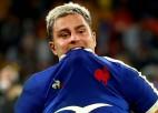 Francija izlaiž 15 punktu pārsvaru un mača izskaņā piekāpjas Austrālijai
