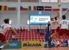 Latvijas U17 izlase pēc uzvaras pirmajā setā piekāpjas Krievijai