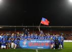 Samoa pārspēj Tongu un kā pirmā kvalificējas 2023. gada PK
