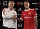 Oficiāli: ''Manchester United'' līdz 2026. gadam noslēdz līgumu ar Sančo