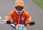 Dramatiskajās BMX sacīkstēs par čempioniem kļūst Kimmans un Šrīvere