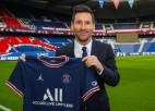 "Lionels Mesi oficiāli kļuvis par Parīzes ""Saint-Germain"" futbolistu"