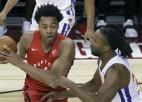 """Bārnsa 23+5+4 palīdz """"Raptors"""" veikt spilgtu atspēlēšanos Vasaras līgas spēlē"""