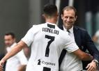 """""""Juventus"""" treneris Allegri: """"Ronaldu paliek Turīnā"""""""