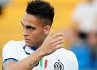 """Lautaro Martiness noraida """"Tottenham"""" un citu klubu interesi un izvēlas palikt Milānas """"Inter"""""""