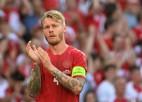 Dānijas izlases kapteinis un mediķi tiek godināti ar UEFA Prezidenta balvu