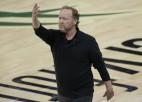 Čempione ''Bucks'' uz trim gadiem pagarina līgumu ar galveno treneri