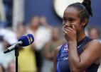 "Sabaļenka garantē jaunu ""Grand Slam"" čempioni, Fernandesa pieveic Svitoļinu"