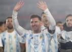 Mesi pārspēj leģendārā Pelē rekordu, Argentīna un Brazīlija tuvojas Katarai