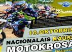 Svētdien Madonā Nacionālā kausa finālposms motokrosā