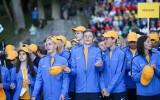 Foto: Latvijas Jaunatnes olimpiādes atklāšana
