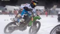 LČ skijoringā un ziemas motokrosā 3.posms Ādažos
