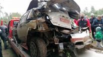 Japāņu sportistam smaga avārija ''Rally Estonia''
