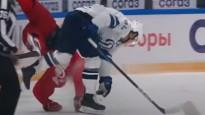 KHL aizvadītās sezonas spēka paņēmienos uzvar Mironovs