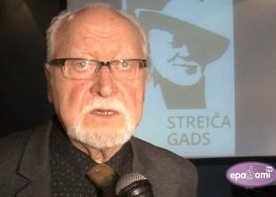 Video: 2016. gads pasludināts par Jāņa Streiča kinogadu