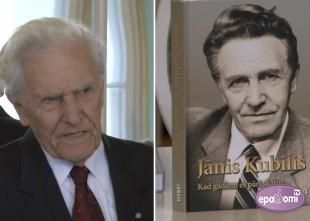 Video: Klajā nākusi grāmata par leģendāro aktieri Jāni Kubili