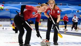 Latvijas sieviešu kērlinga izlase atlasi uz OS arī iesākusi ar divām uzvarām