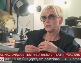 Video: Latvijas Nacionālais teātris atklāj e-teātri «Baltais kubs»
