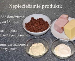 Fotorecepte: Pupiņu salāti soli pa solim