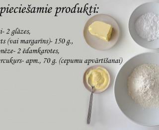 Fotorecepte: Smilšu cepumi soli pa solim