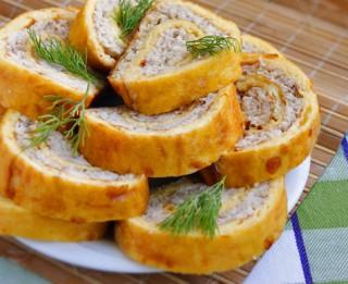 Vistas rulete omletē
