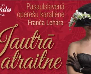 Gaidāms mūsdienīgs slavenās operetes JAUTRĀ ATRAITNE jauniestudējums