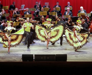 Trīs Latvijas tenori un operete Eiropai un pavasarim