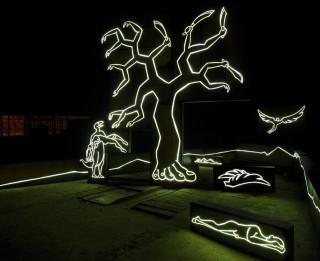 Miķelis Fišers radījis darbus 57. Venēcijas mākslas biennālei