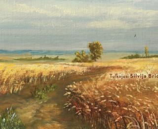 """Iznācis britu rakstnieces Melisas Harisones romāns """"Zeltains miežu lauks"""""""