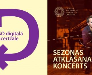 """LNSO ārkārtas situācijas laikā atver """"LNSO digitālo koncertzāli"""""""