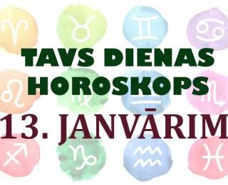 Tavs dienas horoskops 13. janvārim