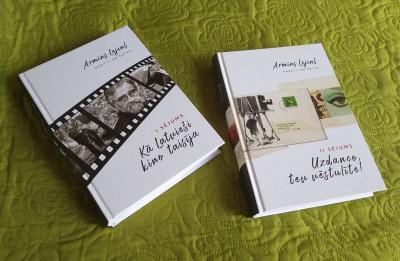 """Izndoti kinodramaturga Armīna Lejiņa """"Raksti un dzīve"""""""