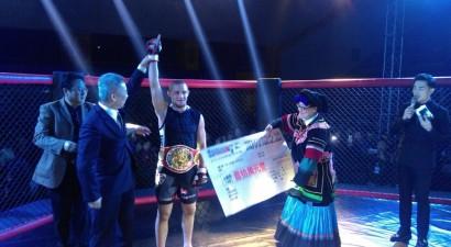 Edgars Skrīvers Ķīnā kļūst par pasaules čempionu MMA