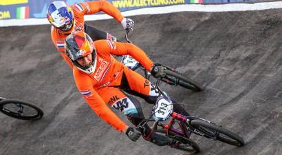 Eiropas čempions BMX treniņbraucienos ietriecas vieglprātīgā tiesnesī