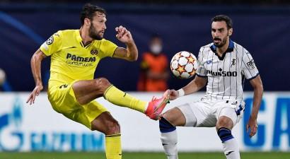 """""""Villarreal"""" un """"Atalanta"""" uzbrukuma futbolā uzvarētāju nenoskaidro"""