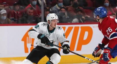 """Balcera """"Sharks"""" turpina perfekti, Girgensonam un """"Sabres"""" pirmais zaudējums"""