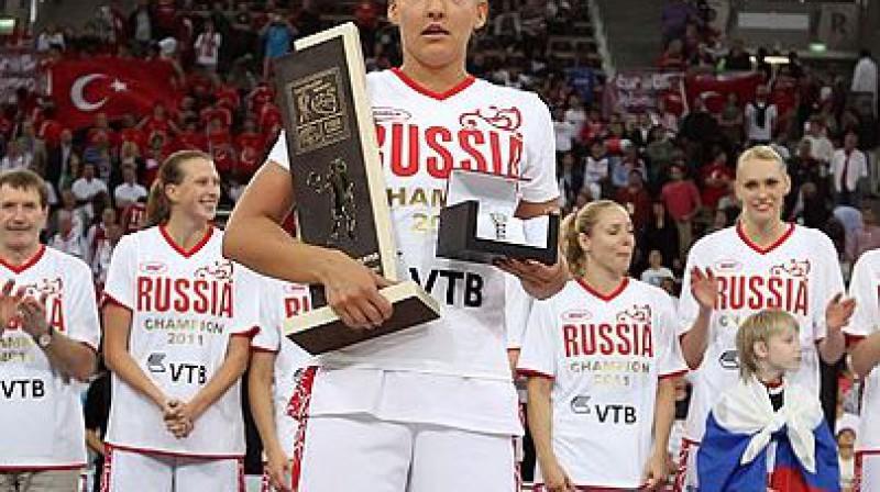 Jeļena Daņiločkina Foto: fibaeurope.com