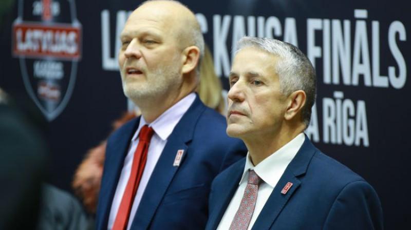 Viesturs Koziols un Bobs Hārtlijs Foto: Dmitrijs Suļžics/F64